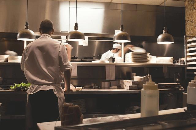 Arbeiten in restaurant
