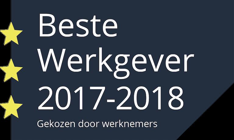 Beste Werkgever 2017-2018