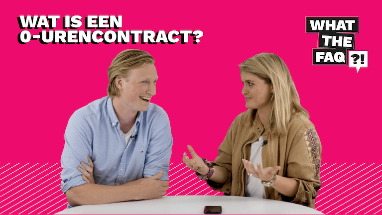 Wat is een 0-urencontract?