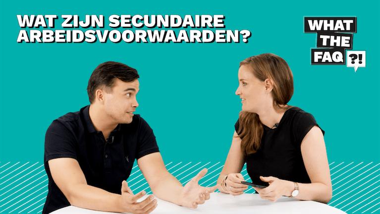 Wat zijn secundaire arbeidsvoorwaarden?