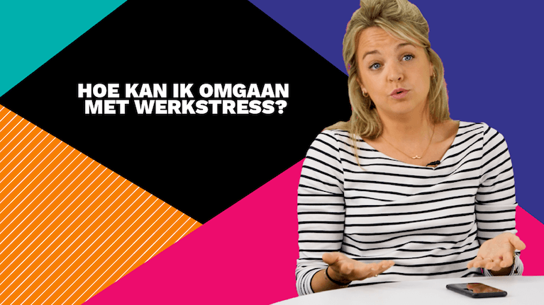 Hoe kan ik omgaan met werkstress?