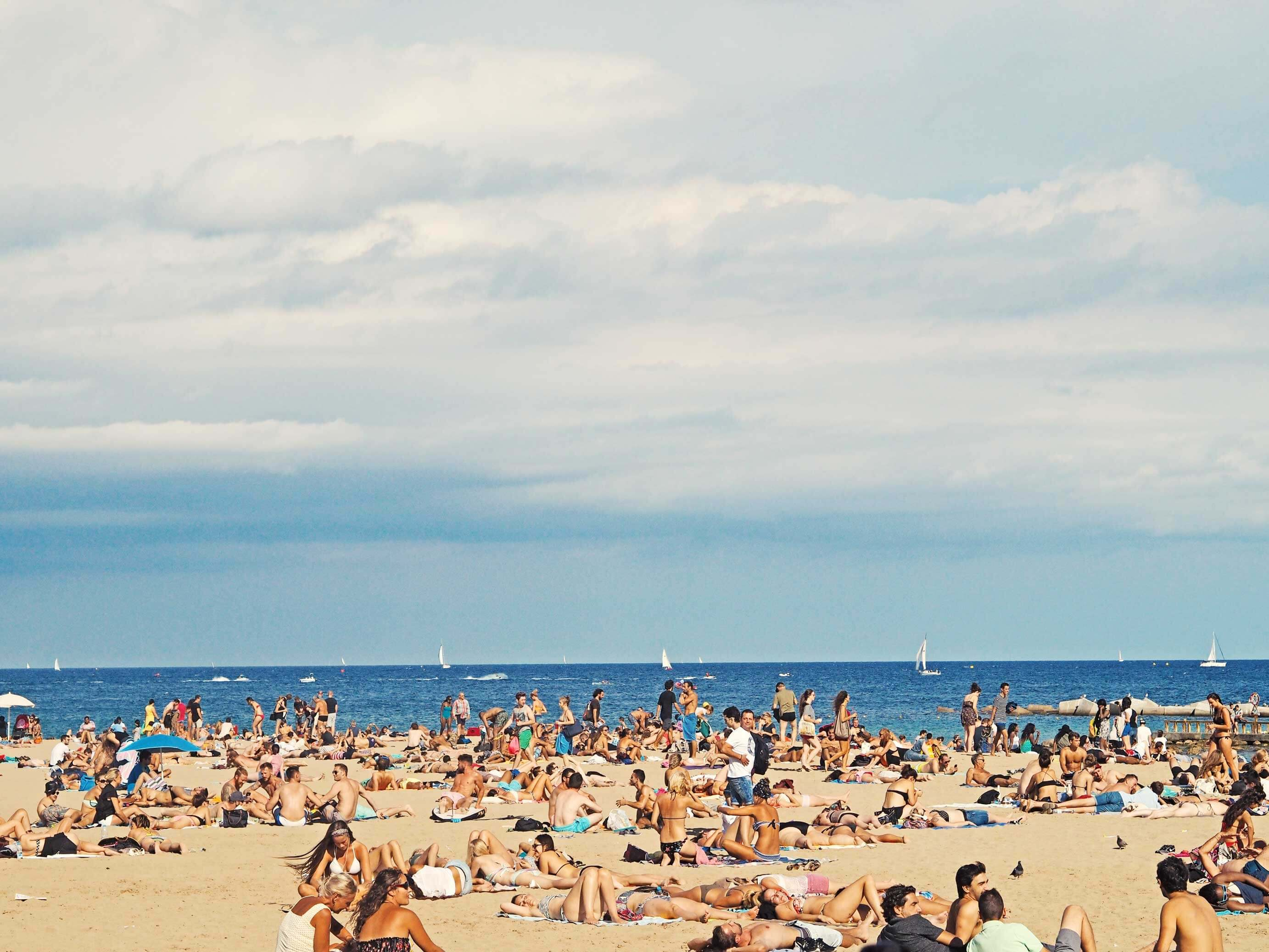 Barcelona strand
