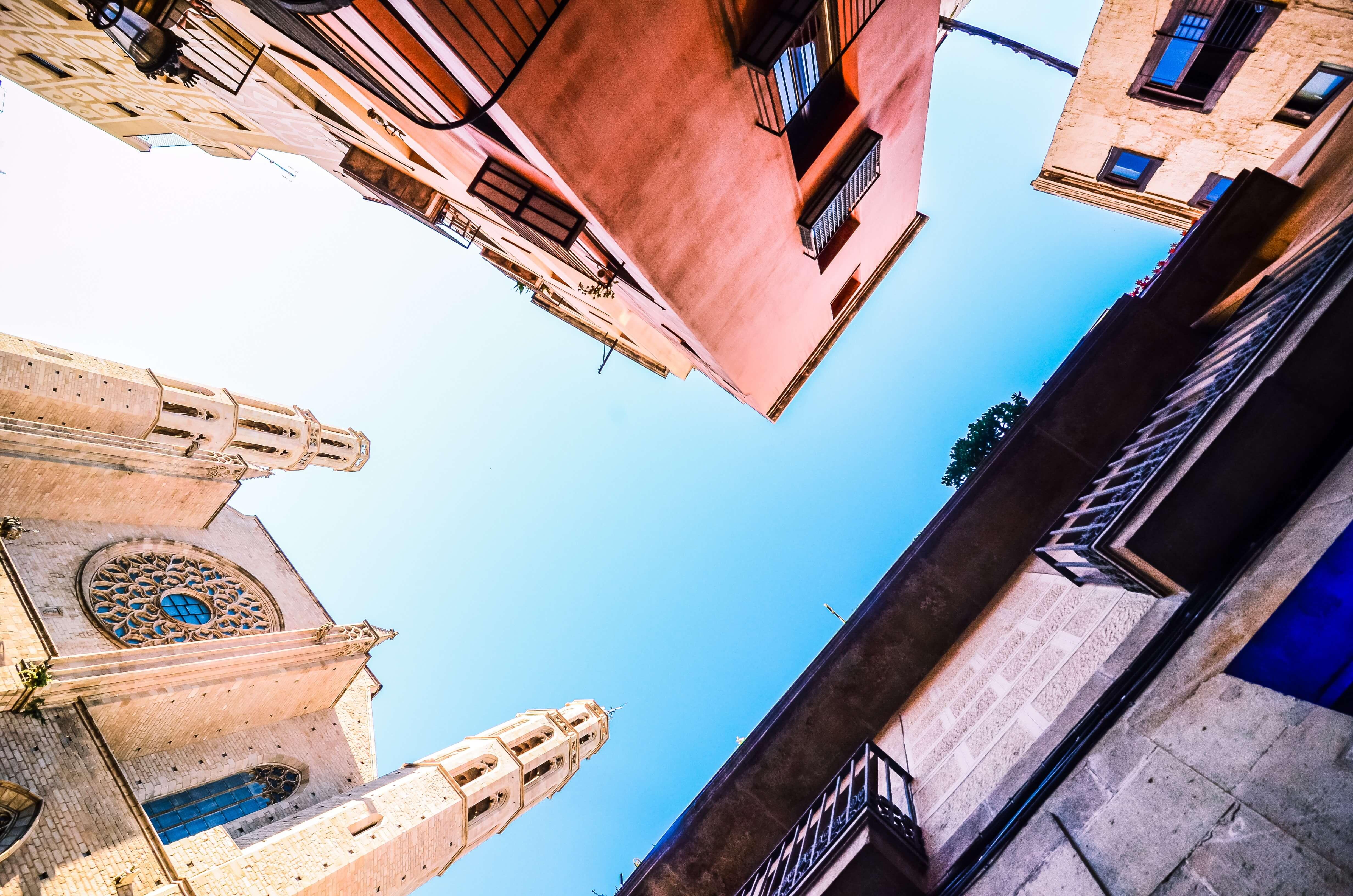 Gebouwen in Barcelona