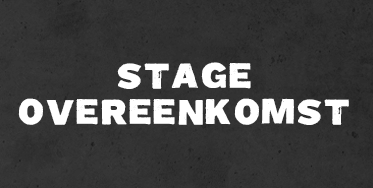Stageovereenkomst