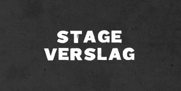 Stageverslag