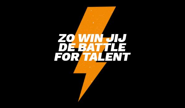 Zo win jij de battle for talent