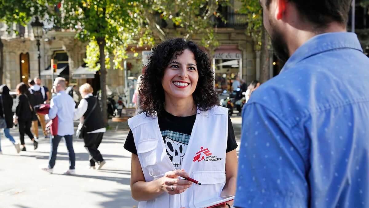 Encontrar trabajo en Médicos Sin Fronteras