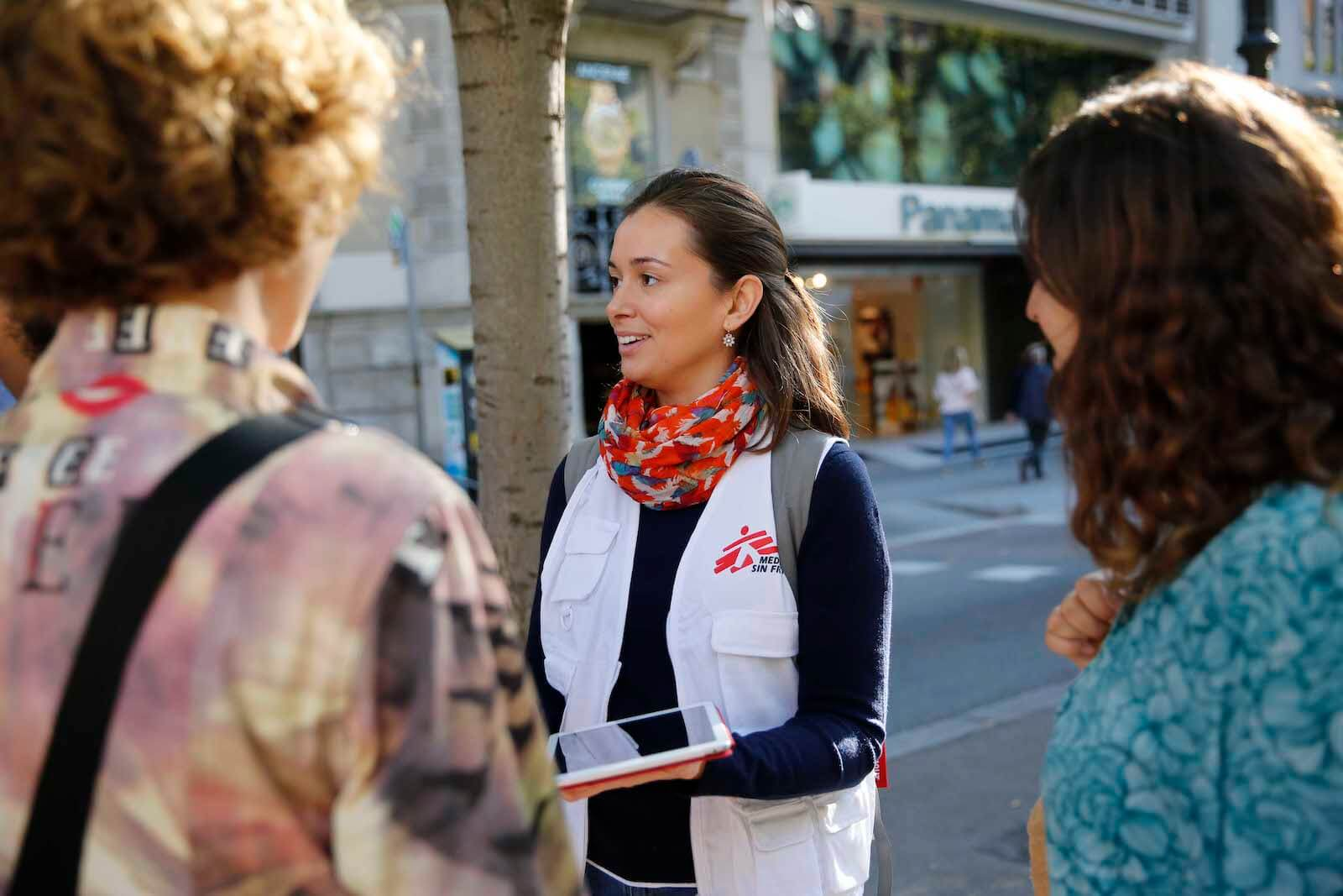 Trabajar en Médicos Sin Fronteras