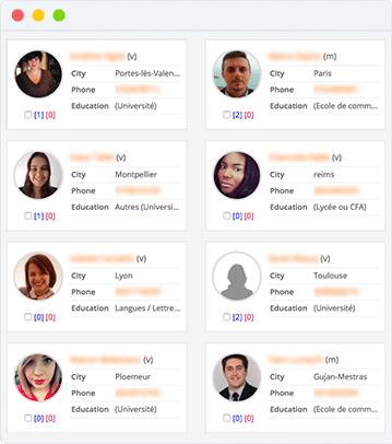 Base de données de CVs : Accédez les meilleurs talents directement