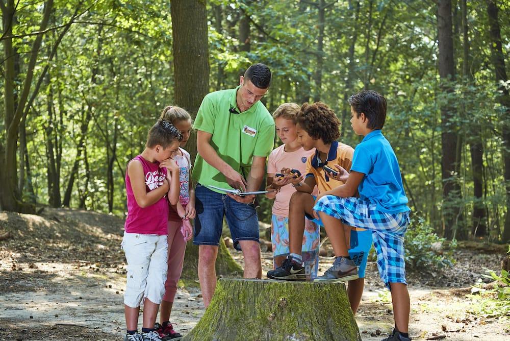 Klimrijk bos groep