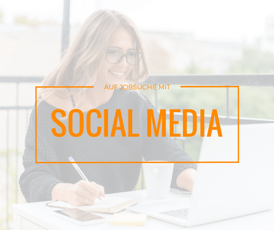 Jobsuche mit Social Media