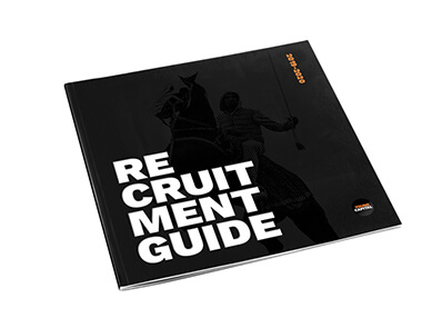 Bestel nu gratis de New Generation Recruitment Guide 2019-2020!