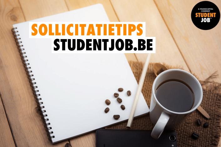 Sollicitatietips student
